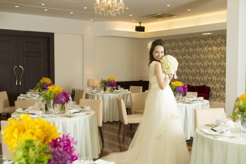 【8月1日限定開催】ブライド体験。ドレス試着×プロのヘアメイクで花嫁体験!